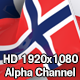 Flag Transition - Norway - VideoHive Item for Sale