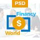 Financy World | Finance PSD Template Nulled