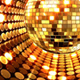 Gold Disco Ball Background - VideoHive Item for Sale