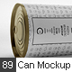 Can Preserve Mock-up - GraphicRiver Item for Sale
