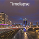 Futuristic City and Traffic at Night - VideoHive Item for Sale