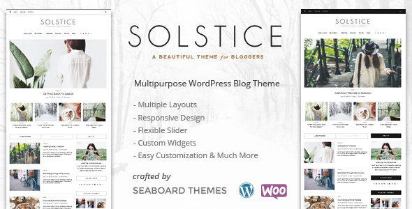 Solstice - Multipurpose WordPress Blog, Magazine, and Shop Theme