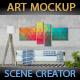 Art Mockup Scences Creator _ Livingroom - GraphicRiver Item for Sale
