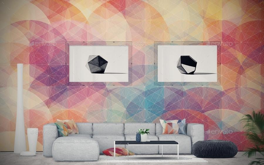 Art Mockup Scences Creator Livingroom