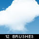 12 High Resolution Cloud Brushes - GraphicRiver Item for Sale