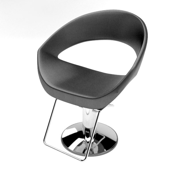 Modern barber chair - 3DOcean Item for Sale