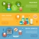 Dental Care Banners Set  - GraphicRiver Item for Sale