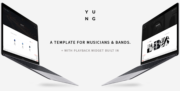Y.U.N.G STUDIO – Music Producer, Band, DJ & Studio Bootstrap Template