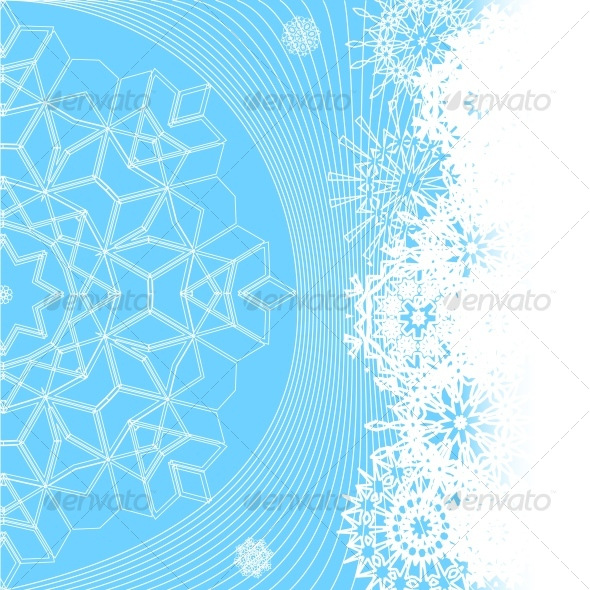 illustration of winter background - Seasons/Holidays Conceptual