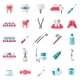Dental Flat Icons Set - GraphicRiver Item for Sale