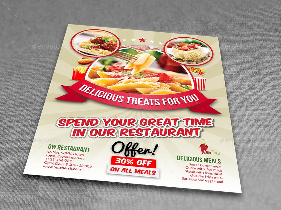 restaurant flyer template vol10 restaurant flyers 01_restaurant_flyer_templatejpg 02_restaurant_flyer_templatejpg