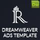 HTML5 Banner Dreamweaver Template v2