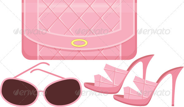 Female bag, shoes and sun glasses - Commercial / Shopping Conceptual