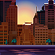Night City Panorama - GraphicRiver Item for Sale