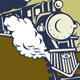 Steam Train Locomotive Retro - GraphicRiver Item for Sale