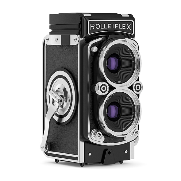Antique Photo Camera - 3DOcean Item for Sale