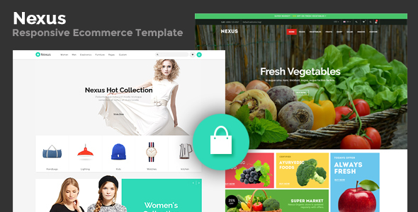 Nexus – Responsive Ecommerce Template