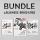 Corporate Brochures Bundle 03 - GraphicRiver Item for Sale