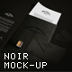 Noir Identity Mock-Up - GraphicRiver Item for Sale