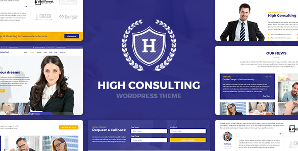 High Consulting – Business Consulting and Finance WordPress Theme