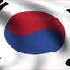 South Korea Flag Background - VideoHive Item for Sale