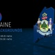 Maine State Election Backgrounds 4K - 7 pack - VideoHive Item for Sale