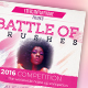 Battle of Brushes Makeup Flyer - GraphicRiver Item for Sale