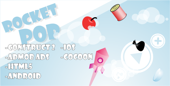 Download Sourcode              Rocket Pop - HTML5 Mobile Game nulled version