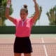 Attractive Young Tennis Player Cheering - VideoHive Item for Sale