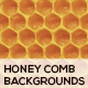 Honey Comb Organic Backgrounds - GraphicRiver Item for Sale