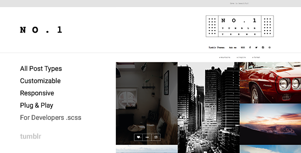 NO.1 | Creative Portfolio Theme