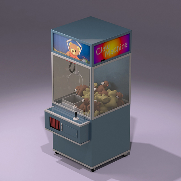Toy Claw Machine - 3DOcean Item for Sale