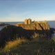 Old Castle in Scotland at the Ocean - VideoHive Item for Sale