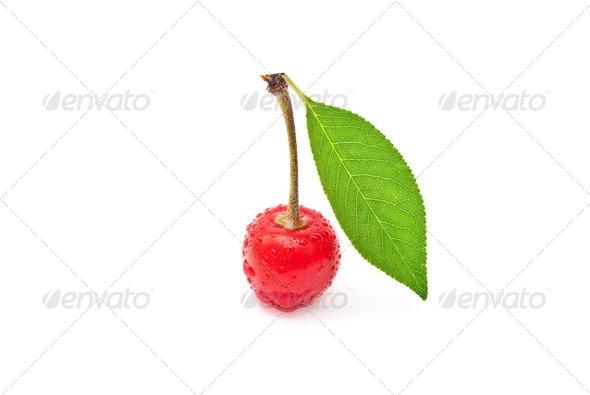 Fresh cherry fruit - Stock Photo - Images