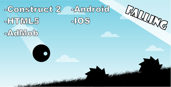 Download Sourcode              Falling - HTML5 Mobile Game nulled version