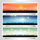 Grassy Landscape Banners - GraphicRiver Item for Sale