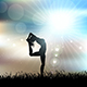 Female Yoga Landscape - GraphicRiver Item for Sale