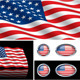 American (USA) Flag Collection - GraphicRiver Item for Sale