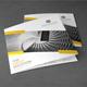 Corporate Tri-fold Square Brochure 05 - GraphicRiver Item for Sale
