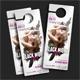 Black Night Party Door Hanger - GraphicRiver Item for Sale