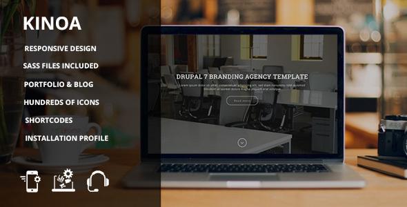 Kinoa - Drupal 7 responsive theme - Creative Drupal