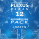 Blue Plexus Clean Background Pack - VideoHive Item for Sale
