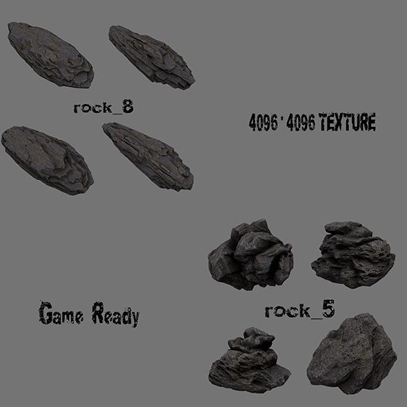 rock 6 - 3DOcean Item for Sale