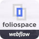 Foliospace - Responsive Webflow Portfolio Template - ThemeForest Item for Sale