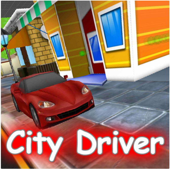 City Car Driver -Unity3D and Startapp