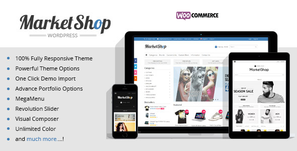 Marketshop | Ultimate WooCommerce Theme