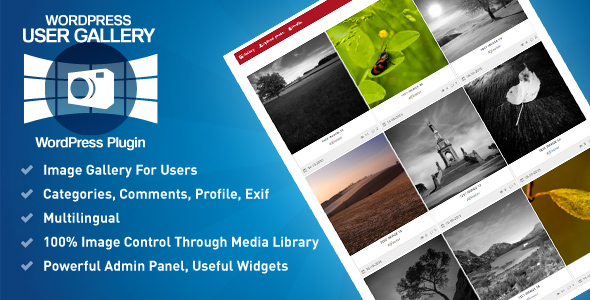 User Gallery WordPress Plugin - CodeCanyon Item for Sale