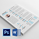 Clean Resume/CV - GraphicRiver Item for Sale
