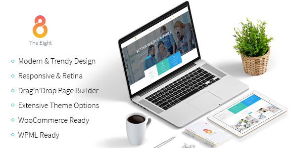 The8 – Corporate, Business WordPress theme