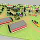 Low poly village - 3DOcean Item for Sale